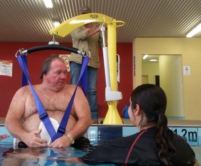 Pool Access Hoist