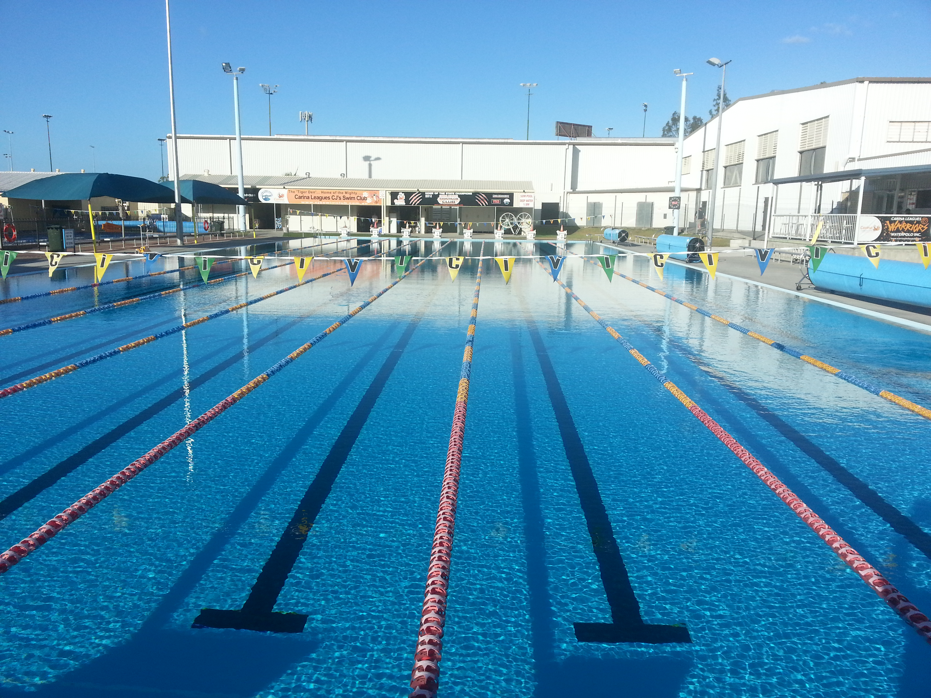 Clem Jones Centre 50m Pool Open