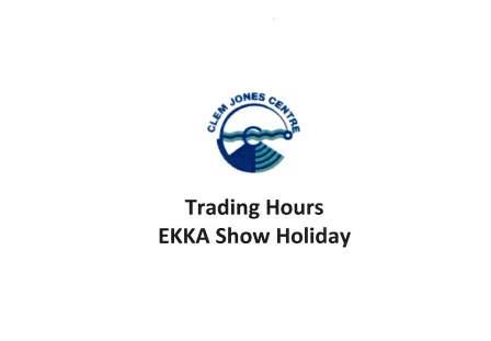 Ekka Show Holiday