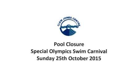 Special Olympics Swim Carnival
