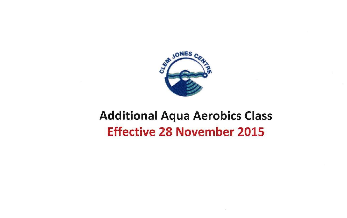 Additional Aqua Class