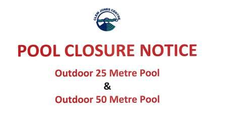 Pool Closure 2016