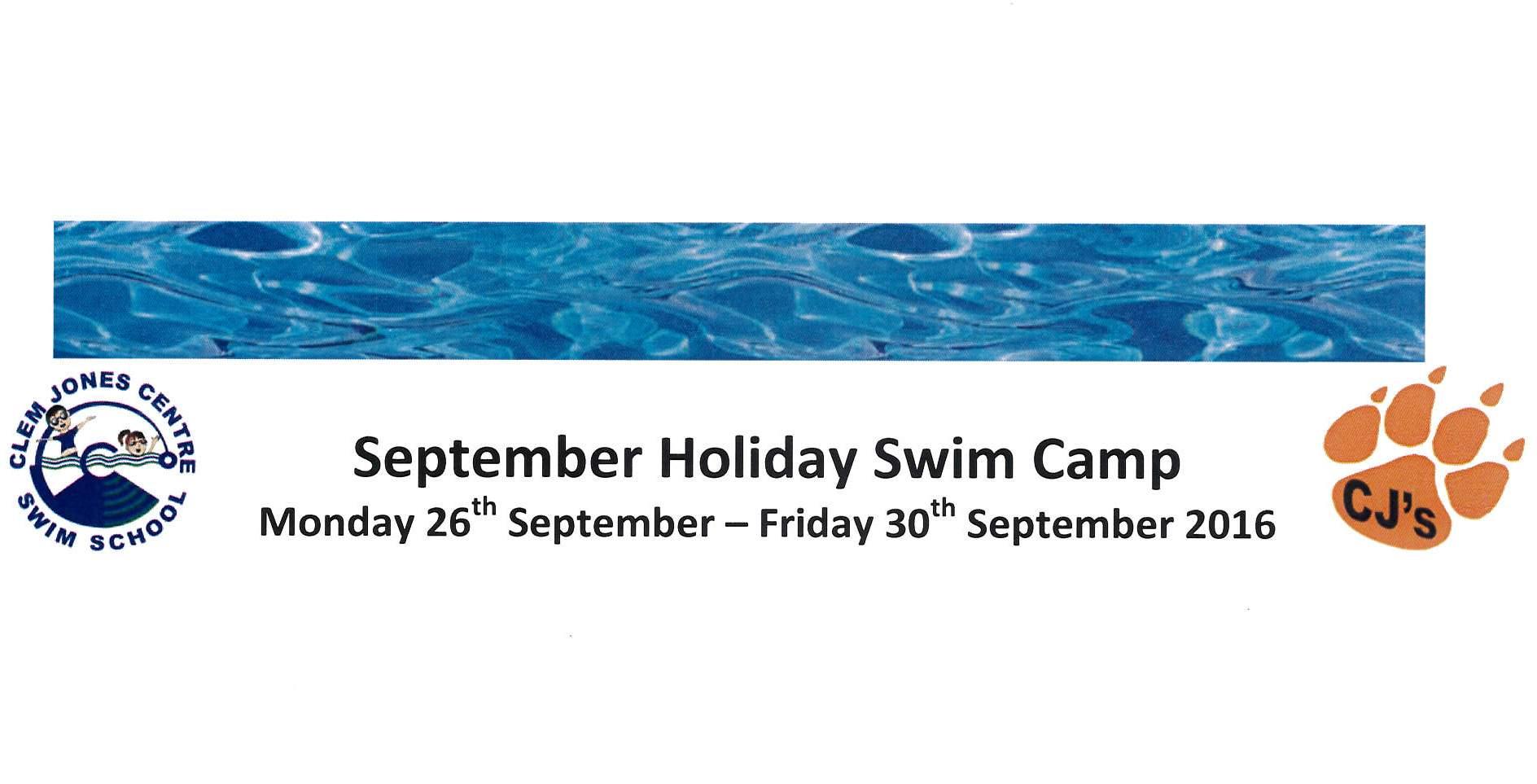 September Swim Camp