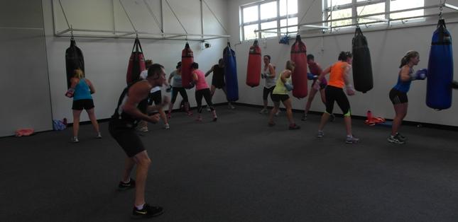 John Fooks' Boxing Fitness Class
