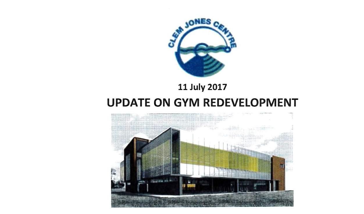 Gym Update July 2017