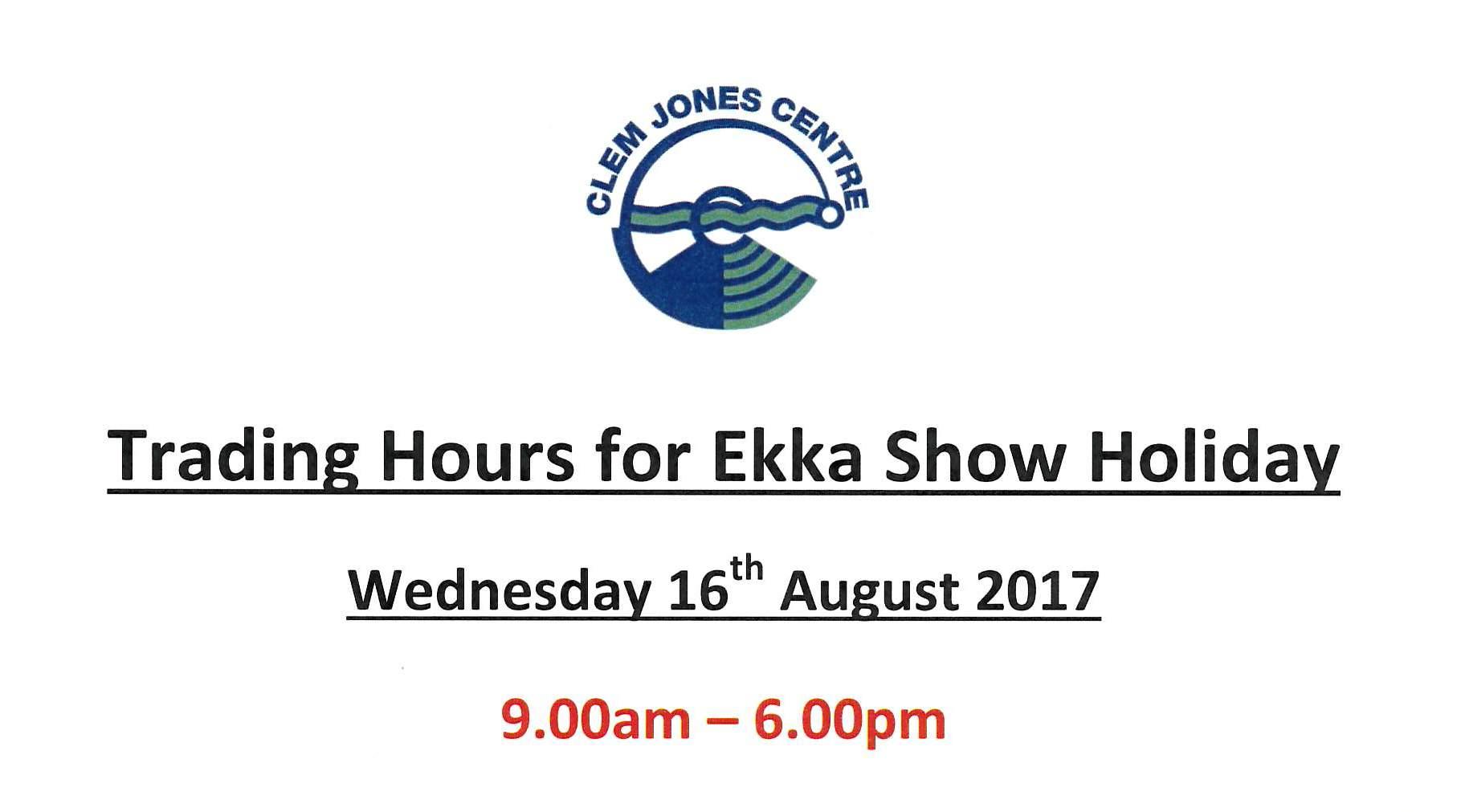 Ekka Show Day