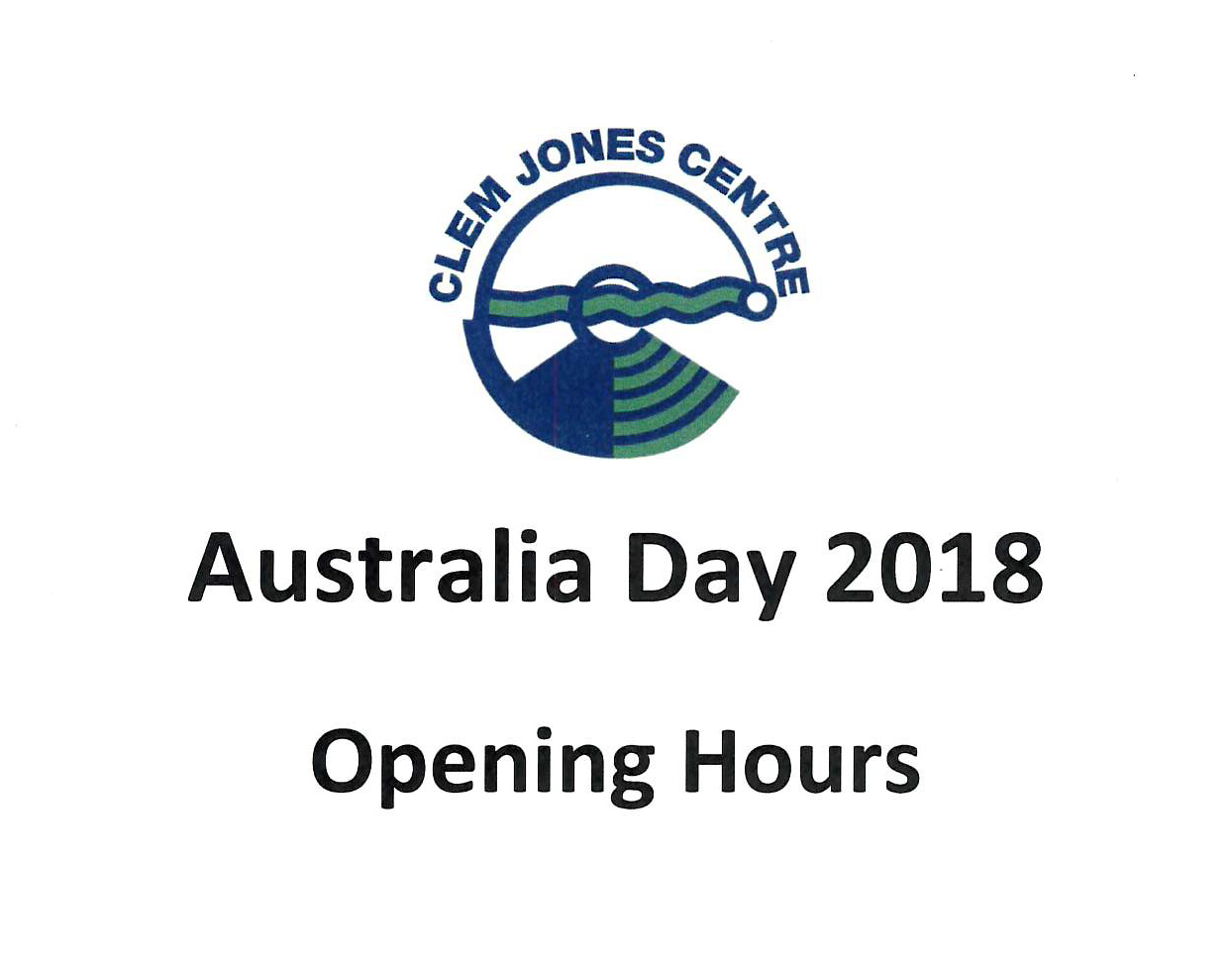 Australia Day Opening Hours 2018